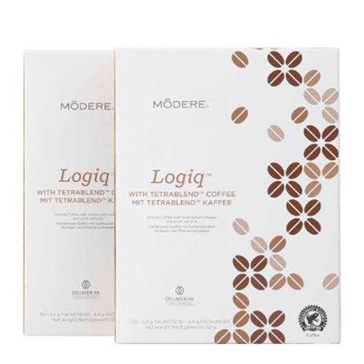 Modere Logiq With TetraBlend Coffee Twinpack